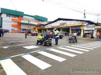 Más zonas azules en la ciudad - La Hora (Ecuador)