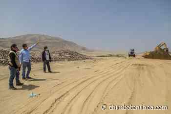 Nuevo Chimbote: verifican reinicio de construcción de celdas transitorias en Pampa La Carbonera - Diario Digital Chimbote en Línea