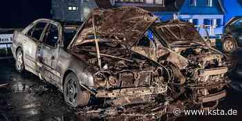 Engelskirchen: Verbindung zur Brandserie im Juni?: Zwei Autos brennen in Engelskirchen komplett aus - Kölner Stadt-Anzeiger