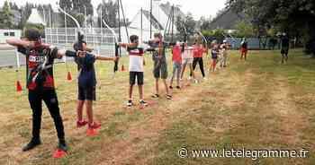 À Sainte-Anne-d'Auray, une soixantaine de jeunes profitent des activités estivales - Le Télégramme