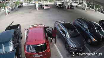 VIDEO: WOMAN GETS CARJACKED AT CONCORD MILLS AREA GAS STATION - News Maven