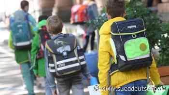 Neues Schuljahr startet: 13 900 Erstklässler eingeschult - Süddeutsche Zeitung