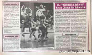 VfL Fredenbeck gegen Post Schwerin: Als die Volksseele im Osten kochte - Handball - Tageblatt-online