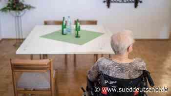 Pflege im Heim immer teurer - Süddeutsche Zeitung