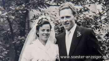 Seit 65 Jahren liiert: Paar aus Werl feiert Eiserne Hochzeit - soester-anzeiger.de
