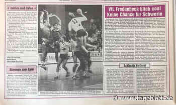 VfL Fredenbeck gegen Post Schwerin: Als die Volksseele im Osten kochte - Handball - Tageblatt.de - Tageblatt-online