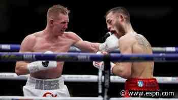 Cheeseman beat Eggington in fierce bout in Hearn's Essex garden - ESPN