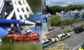 Essex Police find body of missing boy, 15, last seen in the lake near Lakeside Shopping Centre - Daily Mail
