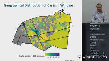 21 New Cases Of COVID-19 In Windsor Essex As Of Friday - windsoriteDOTca News