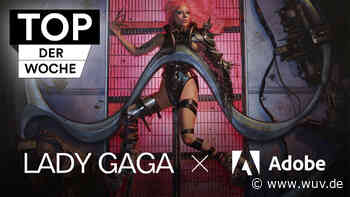 Lady Gaga ruft für Adobe zur Kreativ-Challenge auf - W&V - Werben & Verkaufen