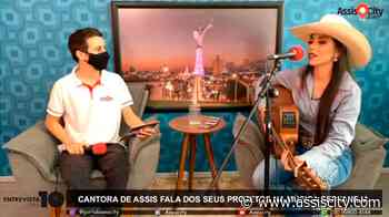Cantora de Assis fala dos seus projetos na música sertaneja - Assiscity