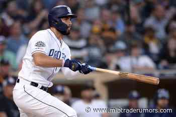 Padres Place Eric Hosmer On 10-Day Injured List; Select Jerad Eickhoff's Contract