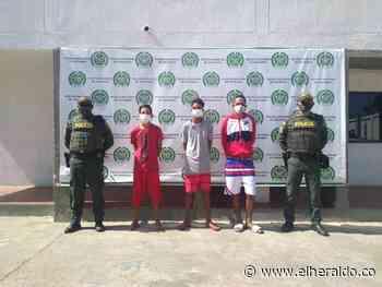 Tres capturados por atacar con cuchillo a un hombre en Maicao - EL HERALDO