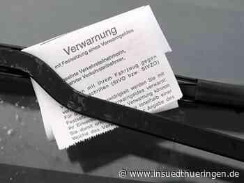 Unbekannter verteilt in Sonneberg falsche Knöllchen - inSüdthüringen