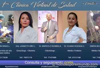 ▷ Médicos de Aiquile inician consultas vía WhatsApp por la cuarentena - Noticias Bolvia - Noticias por el Mundo