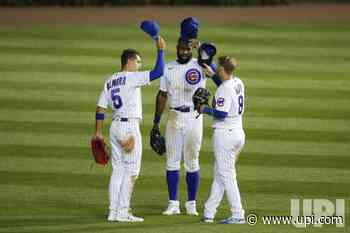 Chicago Cubs celebrate after defeating the Pittsburgh Pirates at Wrigley Field in Chicago - UPI.com