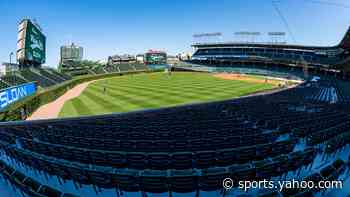 Twins working out in Wrigley Field concourse before Cubs game a surreal sight - Yahoo Sports