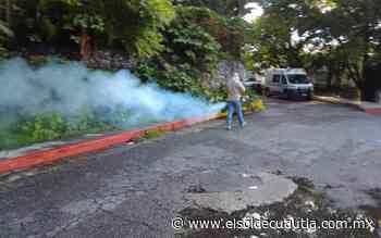 En Cuautla: Realizan nebulización afuera del hospital del ISSSTE - El Sol de Cuautla