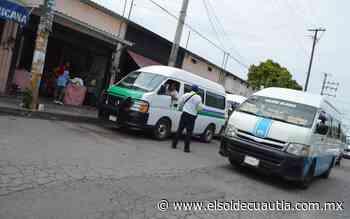 Realizan operativos en paraderos de Cuautla - El Sol de Cuautla