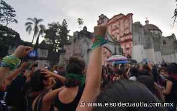 Desairan a las pañoletas verdes en Morelos - El Sol de Cuautla
