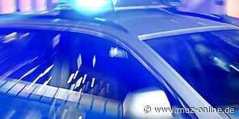 Polizei stellt Mann in Bad Belzig, der mit Haftbefehl gesucht wird - Märkische Allgemeine Zeitung