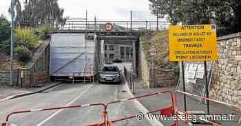 La SNCF refait les rails sur le pont Lécuyer - Le Télégramme