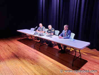 Second police forum held - Ripley Bee