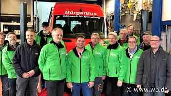 Winterberg: Bürgerbus nimmt Betrieb am Montag wieder auf - Westfalenpost