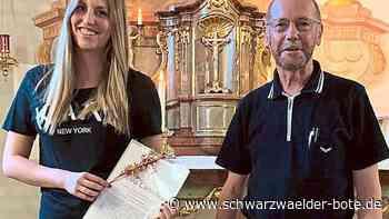 Burladingen: Leonie Schuler darf jetzt lehren - Burladingen - Schwarzwälder Bote