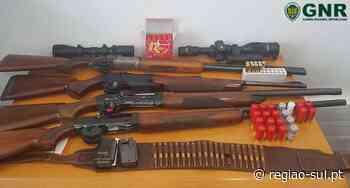 Tavira: GNR apreende armas por violência doméstica - Região Sul