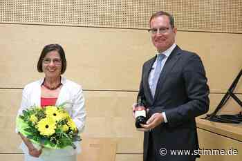 Schöntal kam für Bürgermeisterin Patrizia Filz an erster Stelle - Heilbronner Stimme