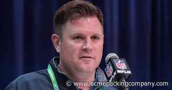 Packers GM Brian Gutekunst 'proud of organization' for pandemic adjustments - Acme Packing Company