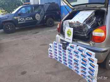 Durante ação em Santa Helena BPFron apreende R$ 95 mil em mercadoria contrabandeada - CGN