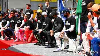 Hamilton: Silverstone anti-racism ceremony 'good step'