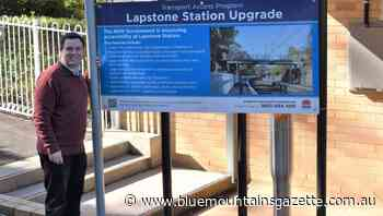 Construction contract awarded for Lapstone station upgrade - Blue Mountains Gazette