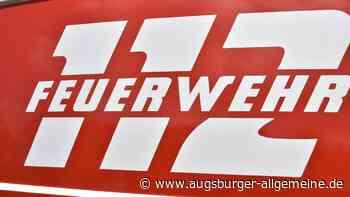 Weizenfeld bei Gersthofen steht lichterloh in Flammen - Augsburger Allgemeine