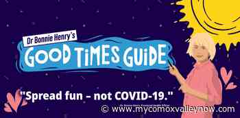 B.C. launches 'Dr. Bonnie Henry's Good Times Guide' - My Comox Valley Now