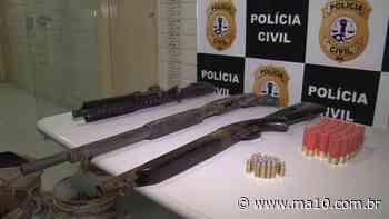 Ação desarticula quadrilha e apreende escopetas e fuzil em Timon - ma10.com.br