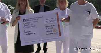 Weiden: Spendenübergabe des Rotary Clubs Weiden - Oberpfalz TV