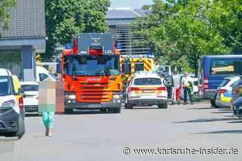 Explosion in Karlsruhe - Kräfte waren im Großeinsatz vor Ort! - Karlsruhe Insider