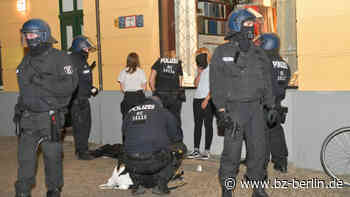 Randale in Prenzlauer Berg – unter den Chaoten waren auch Kinder! - B.Z. Berlin