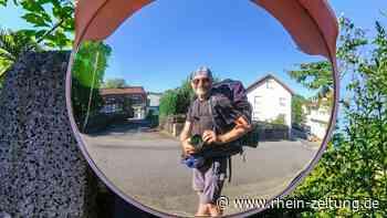 30-Kilometer-Tagesetappen waren die Regel: Hans-Georg Heck hat den Vier-Länder-Wanderweg erkundet - Rhein-Zeitung