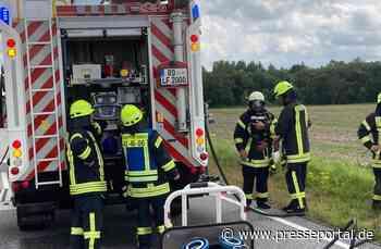 FW-RD: Fahrzeugbrand auf B77 bei Jevenstedt (Kreis Rendsburg-Eckernförde) - Presseportal.de