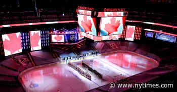 Edmonton, 'City of Champions,' Readies for a Hockey Marathon - The New York Times
