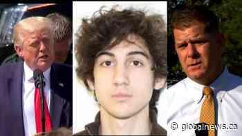 Boston mayor, President Trump react to death sentence of Boston Marathon bomber being overturned   Watch News Videos Online - Globalnews.ca