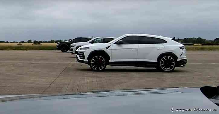 World's fastest SUVs go head-to-head in drag race