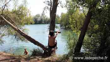 Tarbes. Les baigneurs bravent l'interdit au lac de Bours-Bazet - LaDepeche.fr