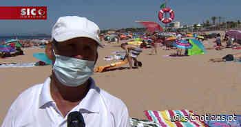 Apesar do fim de semana de calor, negócios no areal correm mal - sicnoticias.pt