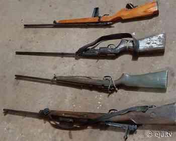 Son cinco los hombres asesinados a balazos y enterrados en San Matías, según la Policía - eju.tv