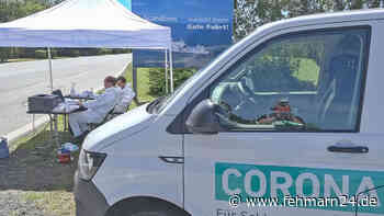 Corona-Teststation nimmt Betrieb auf - fehmarn24